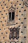 It was built between 1493 and 1517 in a mixing late Gothic and Plateresque style, decorated with more than 300 shells, symbol of the order of Santiago. Stock Photo - Royalty-Free, Artist: ribeiroantonio                , Code: 400-06140290