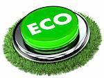 A Colourful 3d Rendered Eco Button Illustration Stock Photo - Royalty-Free, Artist: headoff                       , Code: 400-06141488