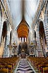 The Interior of the Cathedral in St Hubert, Belgium Stock Photo - Royalty-Free, Artist: gkuna                         , Code: 400-06142109