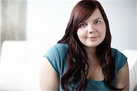 fat lady sitting - Portrait of Woman Stock Photo - Premium Rights-Managednull, Code: 700-06144794