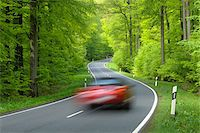 Road Through Forest, Spessart, Bavaria, Germany, Europe Stock Photo - Premium Royalty-Freenull, Code: 600-06144898