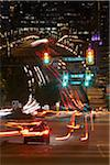 Street Intersection at Night, Vancouver, British Columbia, Canada Stock Photo - Premium Rights-Managed, Artist: Ron Fehling, Code: 700-06144875