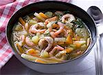Prawn soup with vegetables and dill Stock Photo - Premium Royalty-Free, Artist: Photocuisine, Code: 659-06151507