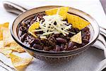 Chili con carne in cup with tortilla chips Stock Photo - Premium Royalty-Free, Artist: Photocuisine, Code: 659-06151528