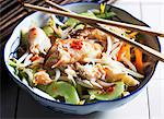 Oriental crab salad Stock Photo - Premium Royalty-Free, Artist: Blend Images, Code: 659-06151642