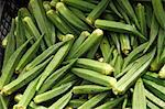 Fresh Organic Okra at Farmer's Market in Bantry, Ireland Stock Photo - Premium Royalty-Free, Artist: Ikonica, Code: 659-06152977