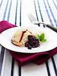 Sweet pastry with berry filling Stock Photo - Premium Royalty-Free, Artist: Mitch Tobias, Code: 659-06153481