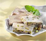 Halva with pistachios (Turkey) Stock Photo - Premium Royalty-Free, Artist: Robert Harding Images, Code: 659-06153696