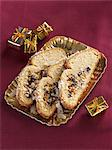 Coconut Stollen at Christmas Stock Photo - Premium Royalty-Free, Artist: foodanddrinkphotos, Code: 659-06153708