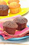 Chocolate and vanilla muffins Stock Photo - Premium Royalty-Free, Artist: Photocuisine, Code: 659-06153739