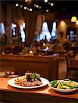 Two Plates in a Restaurant Ready to be Brought to a Table Stock Photo - Premium Royalty-Free, Artist: Aurora Photos, Code: 659-06155176