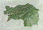 Satellite view with bump effect of the State of Styria, Austria. This image was compiled from data acquired by LANDSAT 5 & 7 satellites. Stock Photo - Premium Rights-Managed, Artist: Universal Images Group, Code: 872-06160429