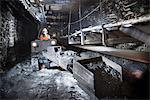 Coal miner working in mine Stock Photo - Premium Royalty-Free, Artist: Lloyd Sutton, Code: 649-06164916