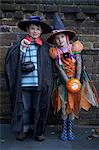 Children wearing Halloween costumes Stock Photo - Premium Royalty-Freenull, Code: 649-06165221
