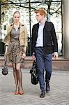 Couple walking on a footpath Stock Photo - Premium Royalty-Free, Artist: Mitch Tobias, Code: 6108-06166046