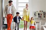Couple with their children Stock Photo - Premium Royalty-Free, Artist: R. Ian Lloyd, Code: 6108-06166793