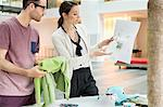 Fashion designers working in an office Stock Photo - Premium Royalty-Free, Artist: CulturaRM, Code: 6108-06168222