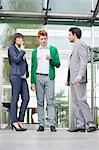Business executives smoking in front of an office building Stock Photo - Premium Royalty-Free, Artist: Beth Dixson, Code: 6108-06168308