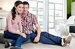 Portrait of a romantic couple Stock Photo - Premium Royalty-Free, Artist: Uwe Umsttter, Code: 6108-06168455