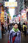 Portrait of woman in hong kong, china Stock Photo - Premium Royalty-Free, Artist: Oriental Touch, Code: 614-06168783