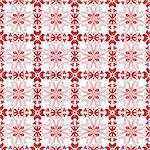 Beautiful seamless floral pattern Stock Photo - Royalty-Free, Artist: inbj                          , Code: 400-06170771