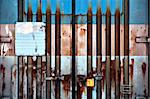 background of rusty metal container door Stock Photo - Royalty-Free, Artist: PinkBadger                    , Code: 400-06173468