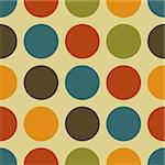 Abstract background with different pastel color circles Stock Photo - Royalty-Free, Artist: pnog                          , Code: 400-06178209