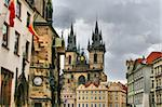 Tyn Cathedral (Church of St. Mother before Tyn), Prague, Czech republic
