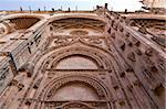Detail of the facade to the entrance of the New Cathedral (Catedral Nueva) in Salamanca, Spain Stock Photo - Royalty-Free, Artist: ribeiroantonio                , Code: 400-06179461