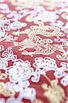Dragon Pattern on Red Paper Stock Photo - Premium Royalty-Free, Artist: photo division, Code: 600-06180187