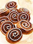 Silesian 'pepper nut' biscuits decorated with icing sugar Stock Photo - Premium Royalty-Freenull, Code: 659-06183637