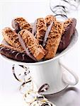 Silesian 'pepper nut' biscuits with chocolate glaze Stock Photo - Premium Royalty-Freenull, Code: 659-06183640