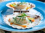Scallops in tarragon sauce Stock Photo - Premium Royalty-Free, Artist: Cultura RM, Code: 659-06184525