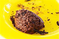 sweet   no people - Mousse au chocolat Stock Photo - Premium Royalty-Freenull, Code: 659-06185242