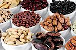 Various types of beans in bowls Stock Photo - Premium Royalty-Free, Artist: Science Faction, Code: 659-06185308