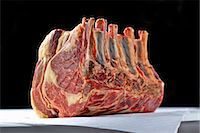 rib - Fore rib of beef (raw) Stock Photo - Premium Royalty-Freenull, Code: 659-06185366