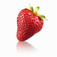 strawberries - A strawberry Stock Photo - Premium Royalty-Freenull, Code: 659-06185539
