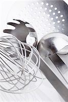 An assortment of kitchen tools Stock Photo - Premium Royalty-Freenull, Code: 659-06185758