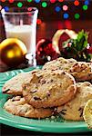 Holiday Cookie Plate; Christmas Decoration Stock Photo - Premium Royalty-Freenull, Code: 659-06185887