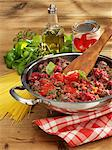 Bolognese sauce being made for spaghetti Bolognese Stock Photo - Premium Royalty-Free, Artist: CulturaRM, Code: 659-06185953