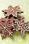 Star-shaped Christmas biscuits Stock Photo - Premium Royalty-Freenull, Code: 659-06186313