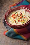 Bowl of Clam and Corn Chowder with Bacon Stock Photo - Premium Royalty-Free, Artist: Aflo Relax, Code: 659-06186677