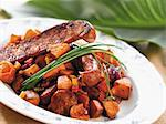 Sweet Potato Hash with Sausage Stock Photo - Premium Royalty-Free, Artist: Photocuisine, Code: 659-06187502
