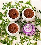 Chocolate mousse (for Christmas) Stock Photo - Premium Royalty-Freenull, Code: 659-06187621