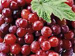 Red grapes (detail) Stock Photo - Premium Royalty-Freenull, Code: 659-06187813