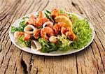 Seafood salad Stock Photo - Premium Royalty-Freenull, Code: 659-06187817