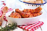Roast chicken drumsticks with chilli Stock Photo - Premium Royalty-Free, Artist: Science Faction, Code: 659-06187882