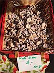 Basket of Bluefoot Mushrooms at The Carouge Market is in Geneva Switzerland Stock Photo - Premium Royalty-Free, Artist: F. Lukasseck, Code: 659-06187954