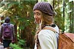 Portrait of Young Woman in Forest Stock Photo - Premium Rights-Managed, Artist: Ty Milford, Code: 700-06190626