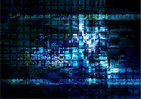 futuristic - Computer Generated Abstract Dark Background Stock Photo - Premium Royalty-Freenull, Code: 622-06191033